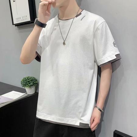 CX5733# 最便宜服装批发 短袖T恤男衣服夏季2021新款潮牌潮流半袖上衣夏装宽松体恤衫