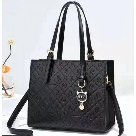 YF69495# 大包包新款时尚都市优雅手提包简约斜挎单肩包女包一件代发 包包批发女包货源
