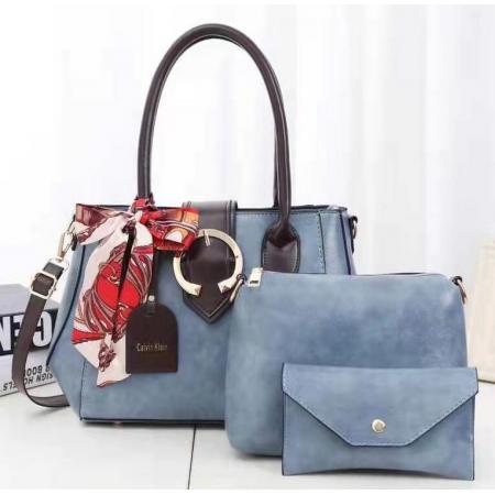 YF69498# 新款女包手提包四季韩版时尚三件套子母包单肩斜跨包一件代发 包包批发女包货源