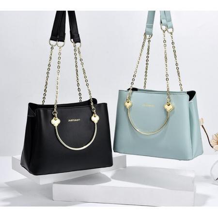 YF69508# 女包新款时尚韩版女士手提包休闲大气斜挎包一件代发 包包批发女包货源