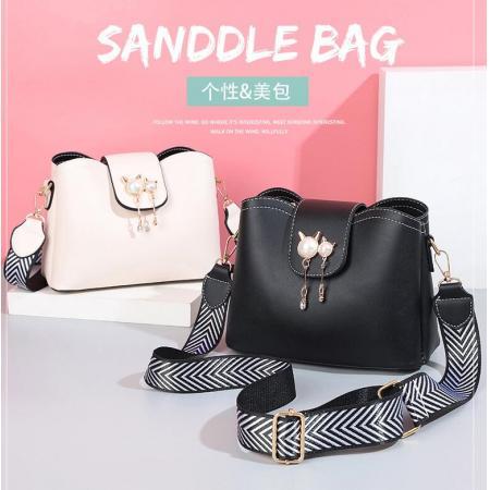 YF69512# 小包包新款韩版时尚女包包珍珠可爱水桶包潮流单肩斜挎包批发 包包批发女包货源