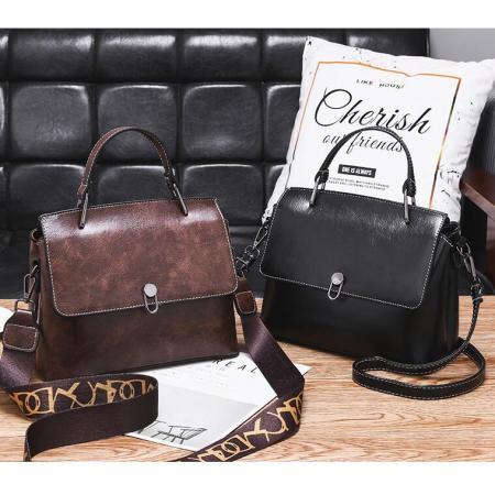 YF69521# 跨境外贸女包新款潮流时尚包包女欧美复古风质感单肩斜挎包女 包包批发女包货源
