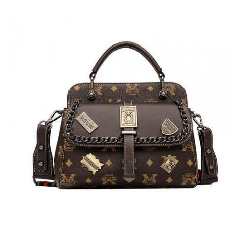 YF69531# 斜挎包包女包新款时尚徽章软皮潮宽带单肩手提包质感洋气小包 包包批发女包货源