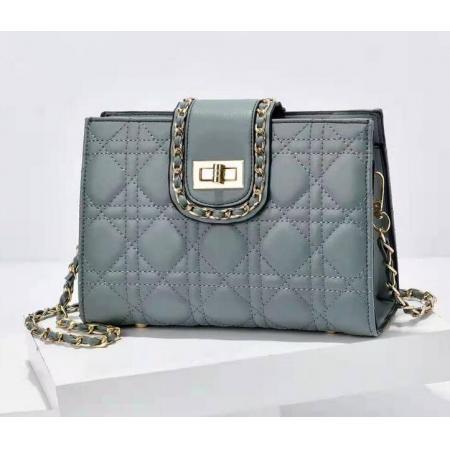YF72807# 女士链条包包新款菱格时尚单肩包简约休闲气质款斜挎女包批发 包包批发女包直播货源