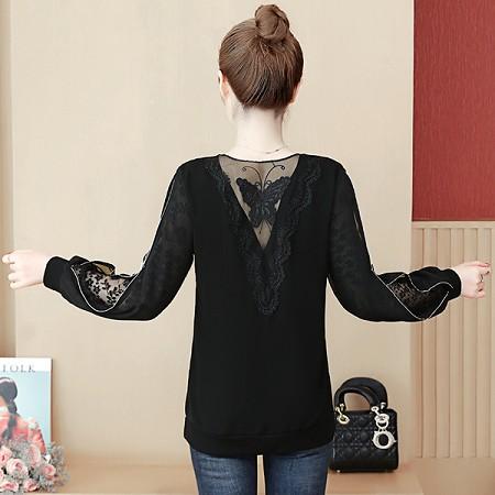 YF75852# 大码女装新款长袖胖mm百搭时尚小衫宽松显瘦遮肚子打底衫 服装批发女装直播货源